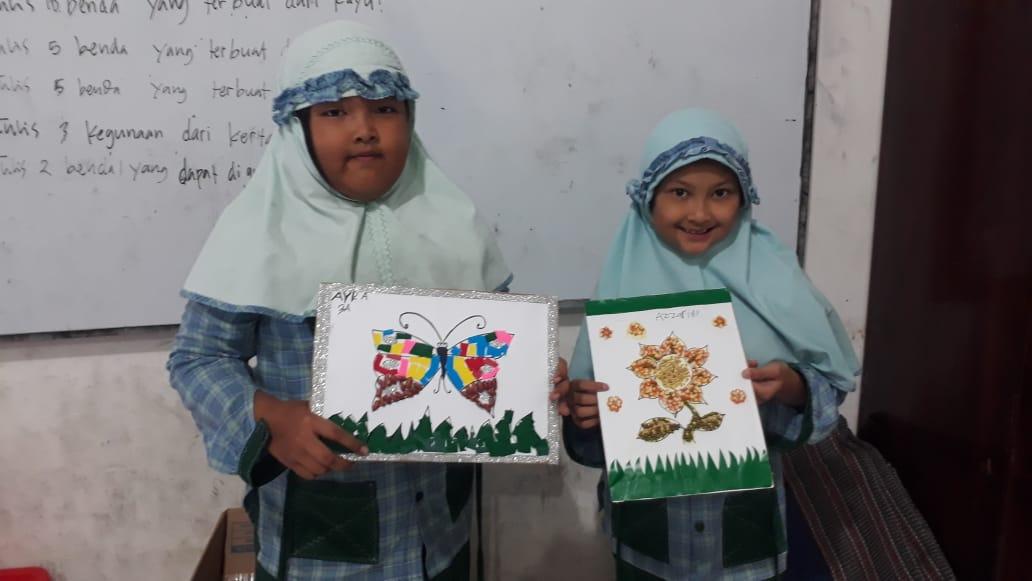 Latihan Seni Mozaik Jadi Kupu Kupu Bunga Sampai Kelinci Berita Muhammadiyah Populer